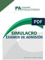 Simulacr Examen Admision General