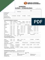 anamnesis audiologica