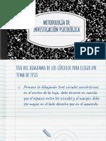 METODOLOGÍA DE LA INVESTIGACIÓN PSICOLÓGICA
