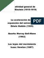 La relatividad general de Albert Einstein.docx