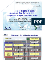 Assessment of Regional Marginal Abatement Cost Curve Analysis in 2020