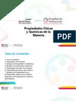 Exposicion Propiedades Fisicas y Quimicas de La Materia