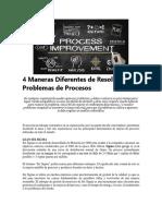 4 Maneras Diferentes de Resolver sus Problemas de Procesos.docx