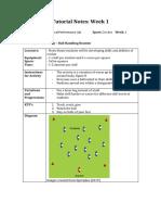 tutorial notes wk 1
