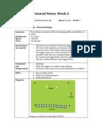 tutorial notes wk 2