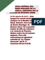 Nuestra Señora Del Santísimo Rosario de La Reconquista y Defensa de La Ciudad de Buenos Aire1