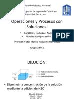 Operaciones y Procesos Con Soluciones