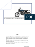Buccaneer Owners Manual