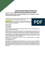 Consultancy arrangement between Beijing Petrochemical Engineering Co Ltd.docx