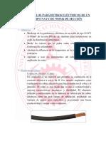 Medición de Los Parámetros Eléctricos de Un Cable Tipo Nayy de 70mm2 de Sección
