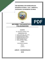 Informe Topografico de Poligonacion