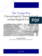The Trojan War Chronological Historical