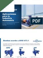Ruhrpumpen Automotive Aplications