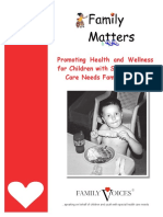 Family Matters Book