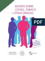 Hablemos de drogas. Documento Secretaría de Salud Federal..pdf