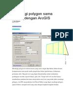 Membagi polygon sama luasan dengan ArcGIS.docx