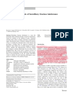 Journal of heredity fructose