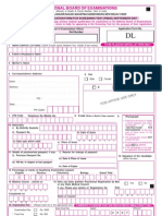 FMGE Screening Test Forms