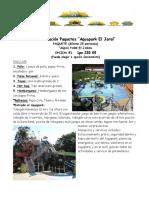 Paquetes Aquapark El Jaral 2013