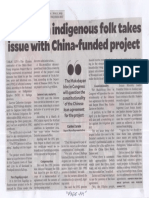 Philippine Daily Inquirer, Apr. 1, 2019, Agency on indigenous folk takes issue with China-funded project.pdf