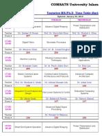 Tentative Time table SP19.xlsx