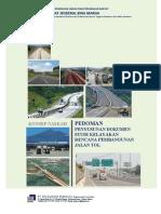 Pedoman FS Jalan Tol 2019