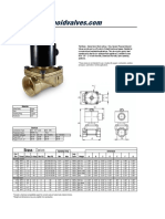Brass Valves Spec Sheet