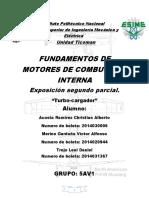 Turbocargador (Motores)3.0