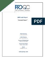 ProQC ExampleReport GMP Audit