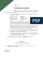 affidavit of accident- barcena.docx