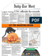 The Daily Tar Heel for October 29, 2010