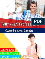 Tally Erp.9 Professional