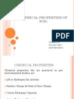 Chemical Properties of Soil