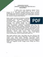 Anggaran Dasar RW 07 Nusaloka Sektor XIV-5