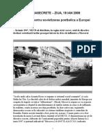 DIRECTIVELE NKVD PENTRU SOVIETIZAREA EUROPEI DE EST - 1947