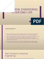 Electrical Engineering in Our Dialy Life