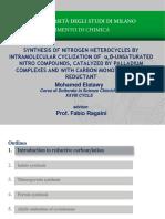 Reductive Cyclization of Nitroarenes