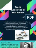 Teoria Burocratica Max W.