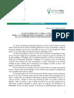 Communiqué de presse de Gilles Simeoni