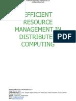 Efficient Resource Management in Distributed Computing [www.writekraft.com]