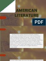 American Literature Reyes