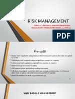 Risk Management Lecture 11