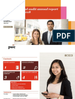 Internal Audit Annual Report PWC