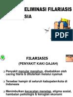 Penyuluhan Filariasis
