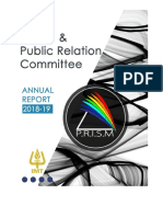 IMT Dubai Media and Public Relations Committee Report 2018-19