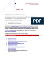 Introduction to Moodle 3.3