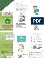 leaflet mual efek kemoteraphy