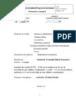 curicul matematica economica.docx