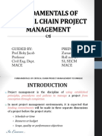 Fundamentals of Critical Chain Project Management