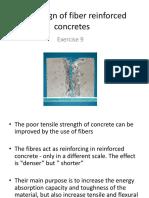 Mix Design of Fiber Reinforced Concretes